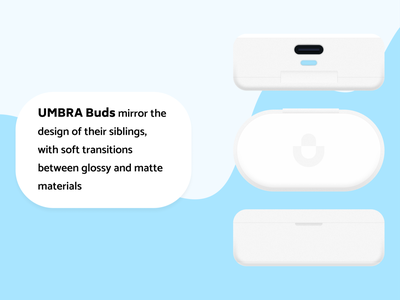 Umbra Buds headphones earbuds industrial design device hardware product design