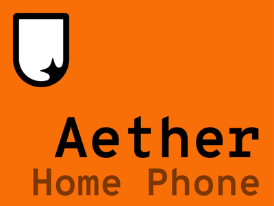 This week: Aether for Home Phone operating system os ui phone ux uiux product design mobile