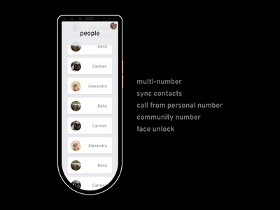 Aether for Home Phone: community features
