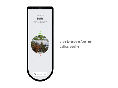 Aether for Home Phone: incoming call