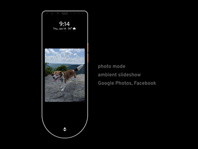 Aether for Home Phone: photo mode