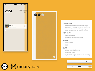 ART (P)rimary design hardware product design mobile