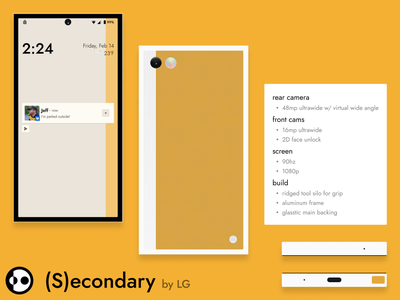 ART (S)econdary hardware phone product design mobile