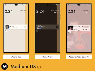 Medium UX pt.1 design uiux mobile product design