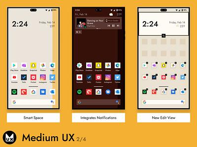 Medium UX pt.2 uiux product design mobile