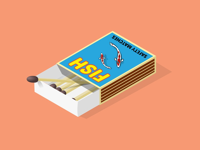 Matchbox art matchbox vector design adobe illustrator graphic art illustration