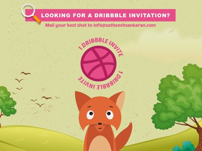 Dribble Invitation giveaway india invite giveaway dribbble invitation invitation invite dribbble invite giveaway illustration