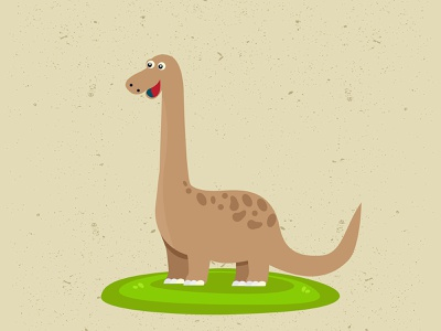 Download Free Dinosaur illustration vector animal cartoon character download freebie dino dinosaur adobe illustrator graphic art vector illustration