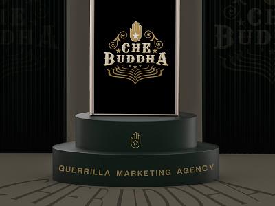 CHEBUDDHA illustration graphic art typography india design graphic design branding