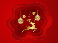 Christmas theme vector illustration