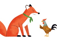 Fox & Rooster