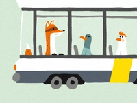 Foxy Tram Detail By Nicholas Hendrickx