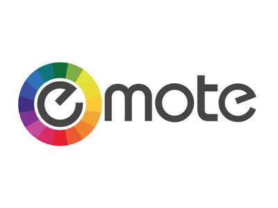 Emote Logo emotional spectrum social media analysis logo design