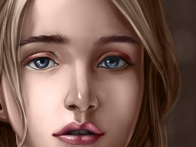 Emma Watson Portrait Coloring