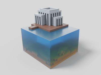 Floating voxels