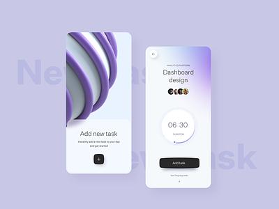 Task Management App design clean 17seven user interface design ios app mobile ux design uidesign