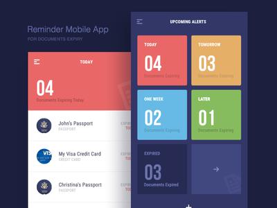 Document Expiry Reminder Mobile App
