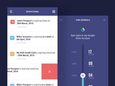 Reminder App - Mobile UI Design