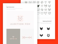 Branding Case study - Audition Fox