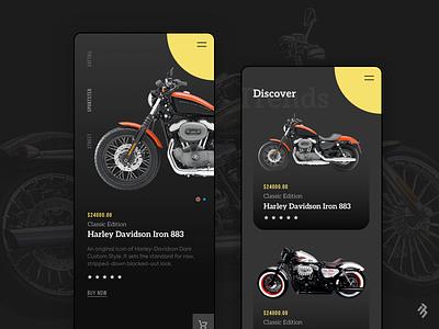 Bike App Design mobile app ios app user experience design bike design iphone app design mobile ux design clean user interface design ui design 17seven