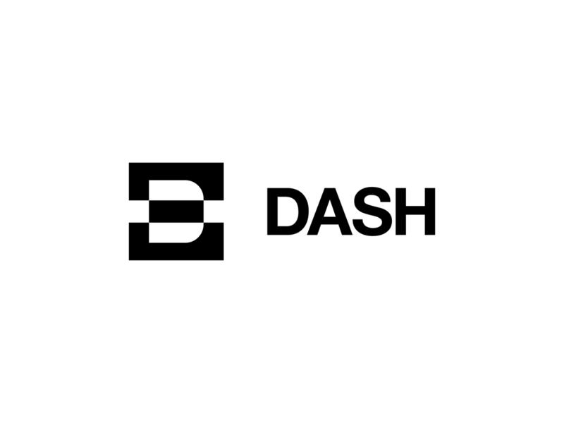 Dash Logo Design behance logo design negativespace negative space logo ui ui  ux symbol letter typeface type design logos identity branding mark logo dash