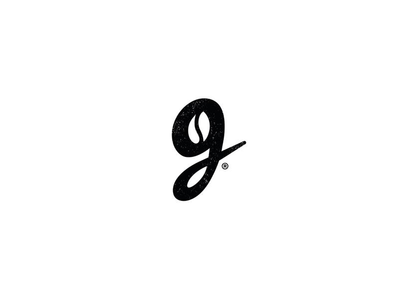 Letter g & coffee bean concept coffee bean bean cafe logo coffee g logo letter brand typeface type design logos identity branding mark logo negative space logo