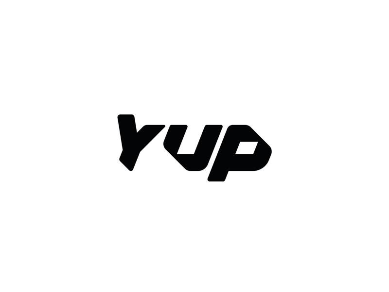 Yup custom type brand logos mark logo branding customtype custom lettering custom type type design type art typedesign typo typogaphy typeface type