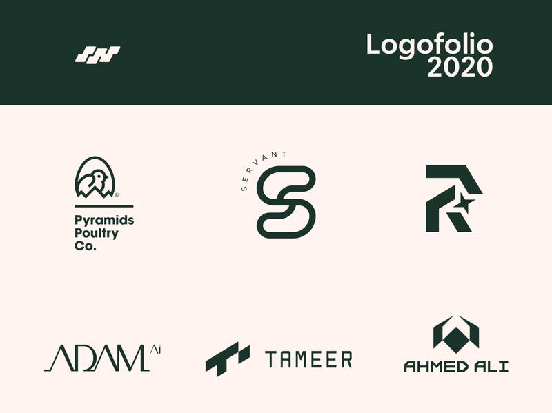 My new logofolio 2020 / Vol.01 type brand logocollection logofolio mark illustration design identity logos branding logo