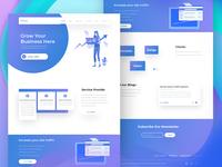 Seo & Marketing Company Landing Page