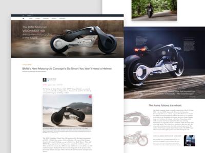 BMW Concept Vision Next 100 Article