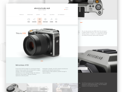 Hasselblad Xd1 About