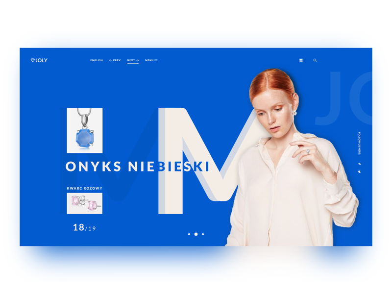 Joly shopping ecommerce ui ux interface web website