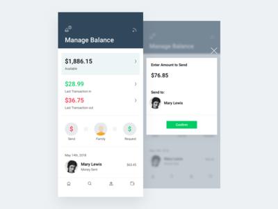 Manage Balance