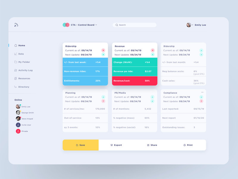 CTA Dashboard analytics website dashboard ux menu web design ui