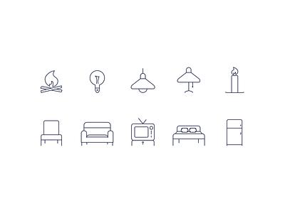 House house items house icons iconography icon set