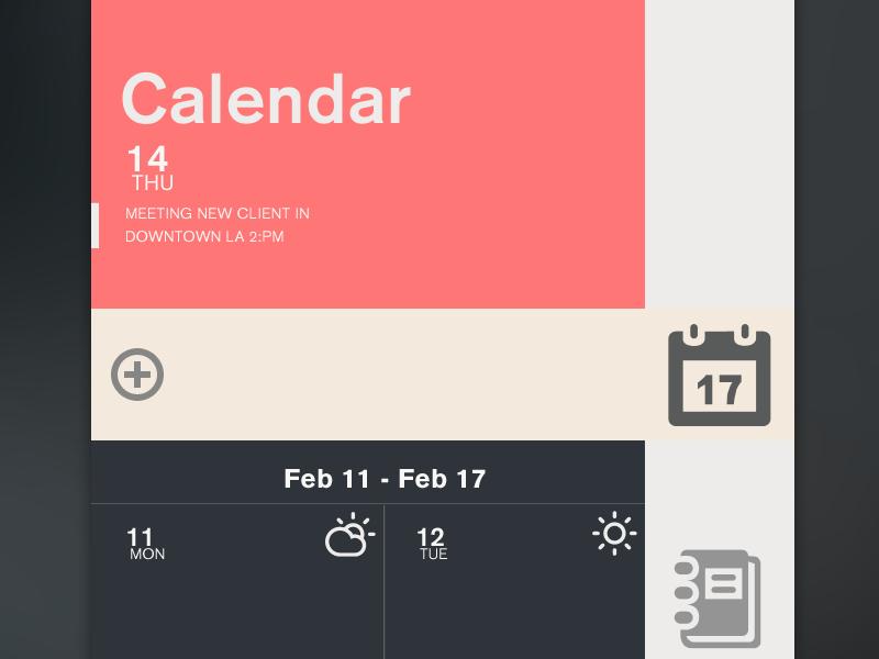 Task ios iphone iphone 5 design calendar task notes organize climacons