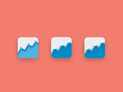 Analytics icon photoshop design graphic ios analytics charts