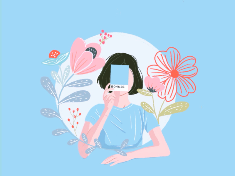 Daily| IIlustration |summer girl illustration design