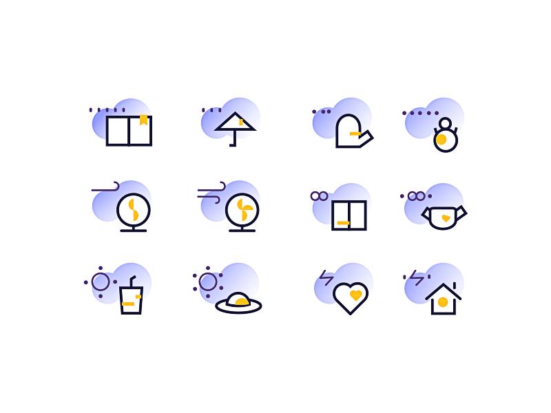 daily icon illustration design ios ux ui app