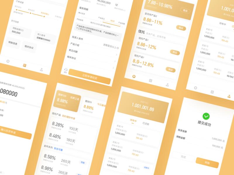 finance app illustration finance design ios ux ui app
