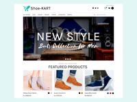 Shoe Kart Landing Page
