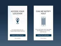 Toilocator App Permissions
