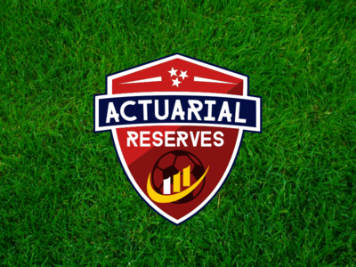 Actuarial Football Team Crest logo soccer football actuarial football crest