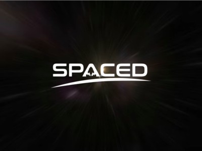 Spaced Logo identity design logo spaced spacedchallenge