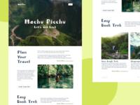 Visit Peru Landing Page
