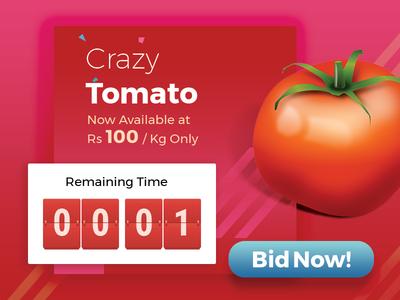 Crazy Tomato Auction