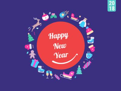 Dribbble Happy New Year