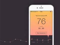 Heart rate measurement app