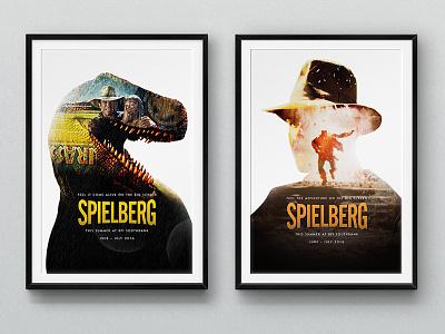 Spielberg e.t jaws campaign prints posters cinema movies spielberg film