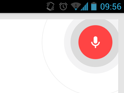 Google—Voice Seach google android voice mic search